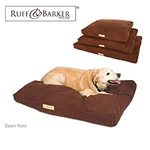 "Ruff & Barker® XL Extra Large (50"") Dog Bean Bag - BROWN Faux Suede Bean Bags for Dogs - Large / XL Dogs from Ruff & Barker®"
