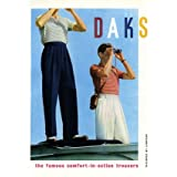 Advertisement for Daks trousers (V&A Custom Print)