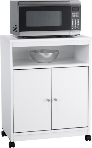 Microwave Cart by Altra Furniture (Kitchen Island Microwave compare prices)