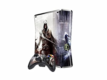 Vantech Xbox360 Slim Decal Control Skin Assassin'S Creed X057 - White