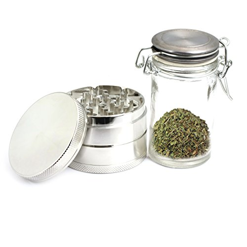 4-Piece-Zinc-Anodizing-Grinder-with-Scraper-and-Free-Glass-Container-and-Free-Carrying-Bag-for-Spice-Herb-Pollen-Weed-Prana-102