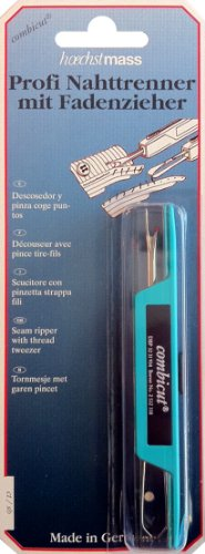 Arts, Crafts & Sewing: Hoechstmass Deluxe Seam Ripper with Thread Tweezer