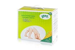 XKKO ECO 100% Biodegradable Diapers Size L (32 Pieces)