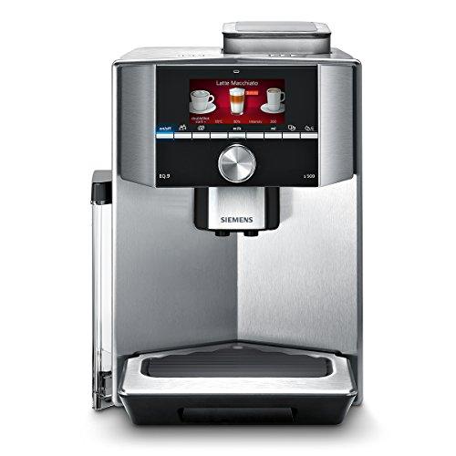 Siemens TI905501DE Kaffeevollautomat EQ.9 s500, 19 bar, Intelligentes Heizsystem, Auto Milk Clean, Barista Mode, edelstahl thumbnail