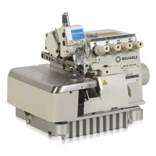 Reliable MSK-3316N-GG7-40H 3/5-Thread High-Speed Safety Serger with Fully-Sub Table and Sewquiet Servomotor
