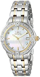 Invicta Women's 0267 II Collection Diamond Accented Two-Tone Stainless Watch