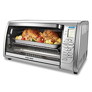 Black & Decker CTO6335S Stainless Steel Countertop Convection Oven by Black & Decker