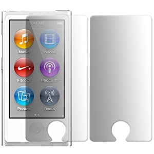 iGloo 2 Pack Screen Protector Guard for the Apple iPod Nano 7 7G 7th Generation