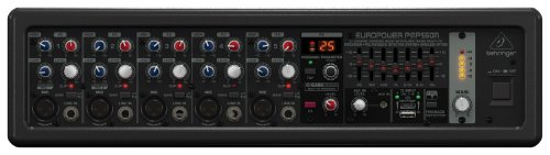 Behringer Europower Pmp530M Ultra-Compact 500-Watt 5-Channel Powered Mixer