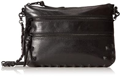 Elliott Lucca Messina 3 Zip Clutch (Pyramid Black)