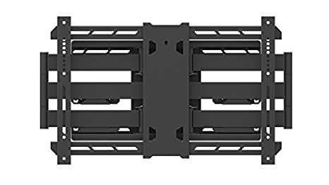 "Multibrackets M Universal Flexarm Pro 125Kg Super Duty - flat panel wall mounts (125 kg, 139.7 cm (55""), 2.79 m (110""), 200 x 200 mm, 600 x 400 mm, Black)"