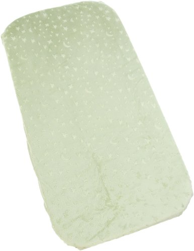 Carters Super Soft Star/Moon Changing Pad Cover - 1