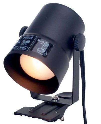 ELPA クリップライト SPOT-CR40(BK) ブラック
