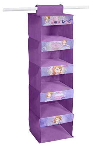 Disney Sofia The First 5-Tier Hanging Organizer (Clothes Organizer For Kids compare prices)