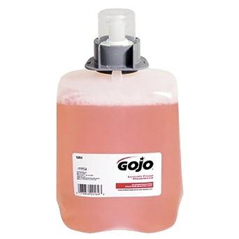 Gojo 5261-02 Luxury Foam Handwash, Cranberry (Case of 2)
