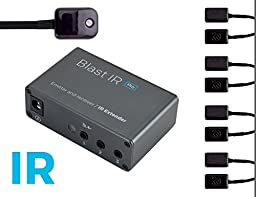Sewell BlastIR Pro, IR Emitter and Receiver Kit, IR Extender, Supports Dual Band IR and RC-MM IR Signals