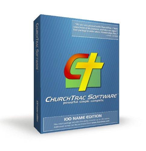 ChurchTrac Church Membership Software CD-ROM