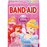 Johnson & Johnson 4653 Band-Aid Disney Princess Assorted 20-Count (Pack of 6)