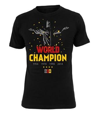 Deutschland Fanshirt 2014 Fanartikel T-Shirt Fußball Shirt für Männer und Frauen zur WM