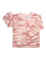 Rothco Baby Pink Camouflage Long Sleeve T Shirt