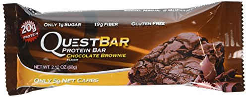 Quest Bar Protein Bar, Chocolate Brownie, 2.1 Ounce (Pack of 12) (Quest Nutrition Chocolate Brownie compare prices)