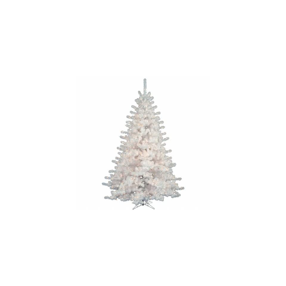Vickerman A805586 10 ft. x 82 in. Christmas Tree Crystal White 1600CL 3870T
