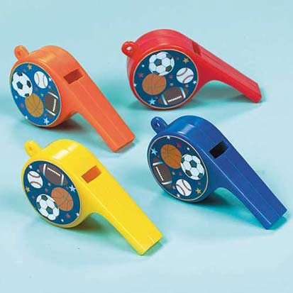 Little Champs Whistles 12ct - 1