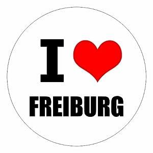 I love Freiburg in zwei Größen erhältlich Aufkleber mehrfarbig JDM Decal Sticker Racing