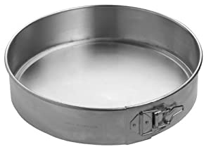Focus Foodservice Commercial Bakeware Aluminum Spring Form Pan, 12-Inch