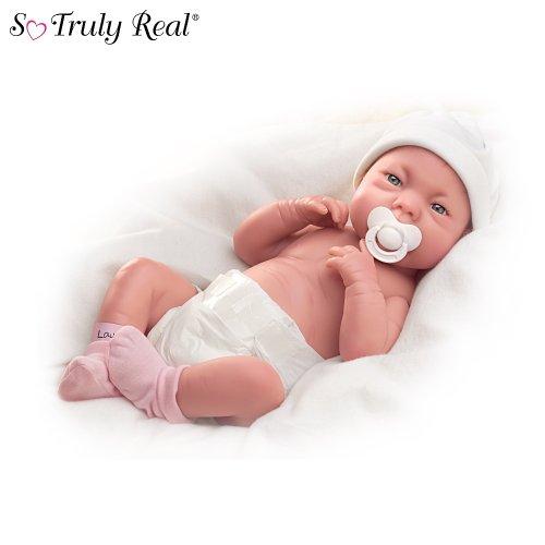 Tinneke Janssens A Lovely Gift Is Little Lauren So Truly Real Lifelike Baby Doll by Ashton Drake
