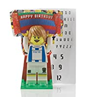 LEGO® Football Name & Age Sticker Birthday Card