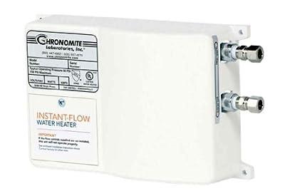 Chronomite SR-15L/120 HTR 120-Volt 15-Amp SR Series Instant-Flow Low Flow Tankless Water Heater by Chronomite