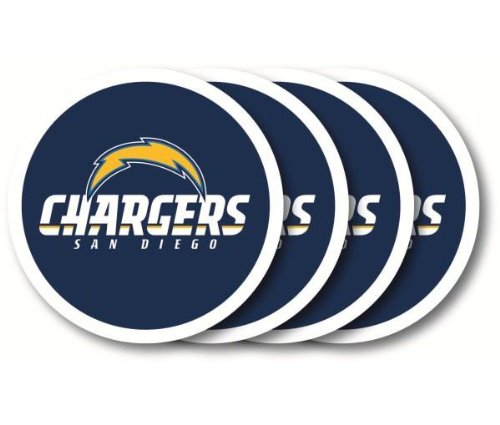 San Diego Chargers Coaster (Set Of 4)