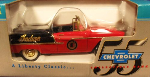 1955 Convertable Chevy Indian Motorcycle Die-Cast Band