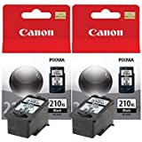 Canon Genuine PG-210XL Twin Ink Value Pack