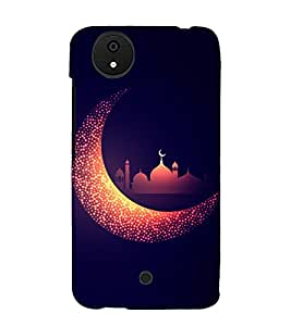 Alla Hu Akbar Eid Mubarak 3D Hard Polycarbonate Designer Back Case Cover for Micromax Android A1 :: Micromax Canvas A1 AQ4502