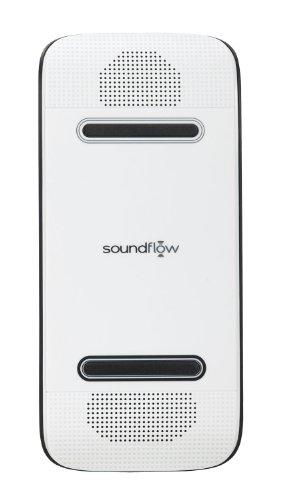 Soundflow Soundboard Wireless Portable Speaker Presto, No Pairing, No Wires, No Setup! (Sp20Whbk In White)