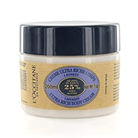 L`Occitane - Shea Butter Lavender Ultra Rich Body Cream