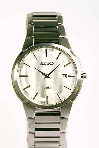 Seiko Classic White Mens Dress Watch SKP295 - Buy Seiko Classic White Mens Dress Watch SKP295 - Purchase Seiko Classic White Mens Dress Watch SKP295 (Seiko, Jewelry, Categories, Watches, Men's Watches, Dress Watches)