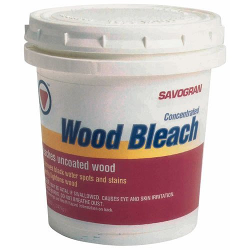 how to use wood bleach