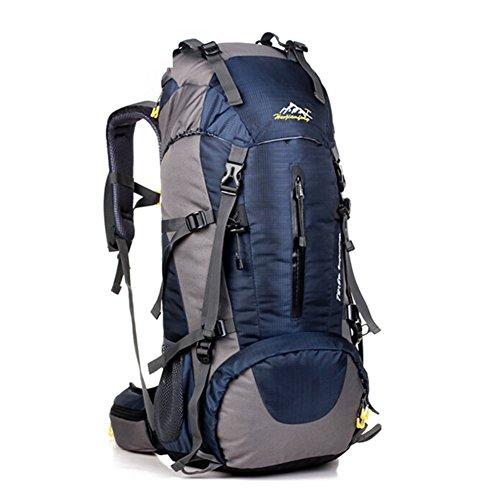 Grand voyage de capacité sac / alpinisme sacs / sac à dos en plein air / sac de sport imperméables-bleu marin 50L
