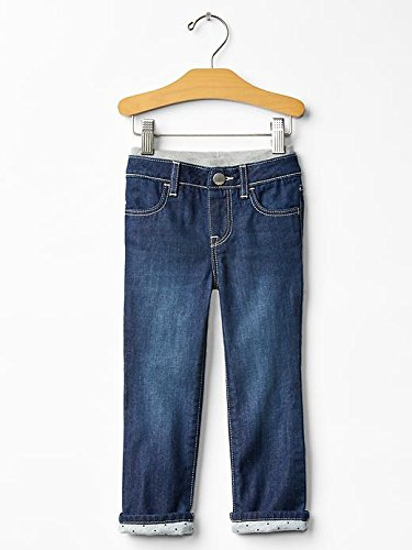 Gap Baby Jersey Lined Straight Jeans Size 2 Yrs front-970479