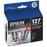 Epson Ink Cartridge 127 T127120 Black for Epson Stylus NX530, NX625, WorkForce 545, 630, 635, 633, 645, 840, 845