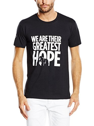 Craghoppers-Maglietta da uomo dian Fossey Limited Edition, Uomo, Dian Fossey T-shirt Limited Edition, nero, M
