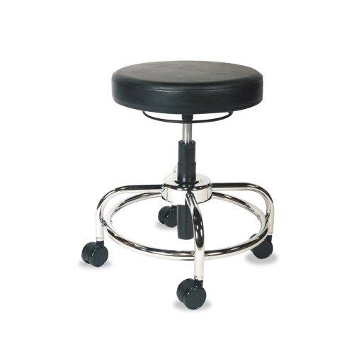 Alera Plus Height Adjustable Utility Stool Black Kobenilu