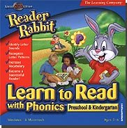 Brand New Riverdeep Interactive Reader Rabbit Learn To Read With Phonics Preschool & Kindergarten