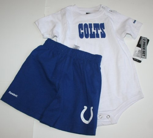 Reebok Indianapolis Colts Baby/Infant 2 Piece Set Size: 24 Months - Creeper/Shorts