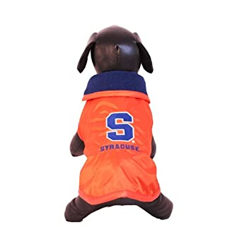 NCAA Syracuse Orange All Weather Resistant Protective Dog Outerwear by All Star Dogs