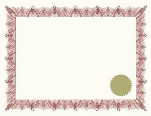 greatpapers com templates - geographics classic red certificates with gold foil seals