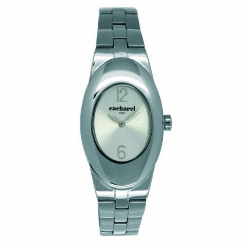 Cacharel CLD BM - 008/Women's Watch Analogue Quartz Silver Dial Silver Steel Strap